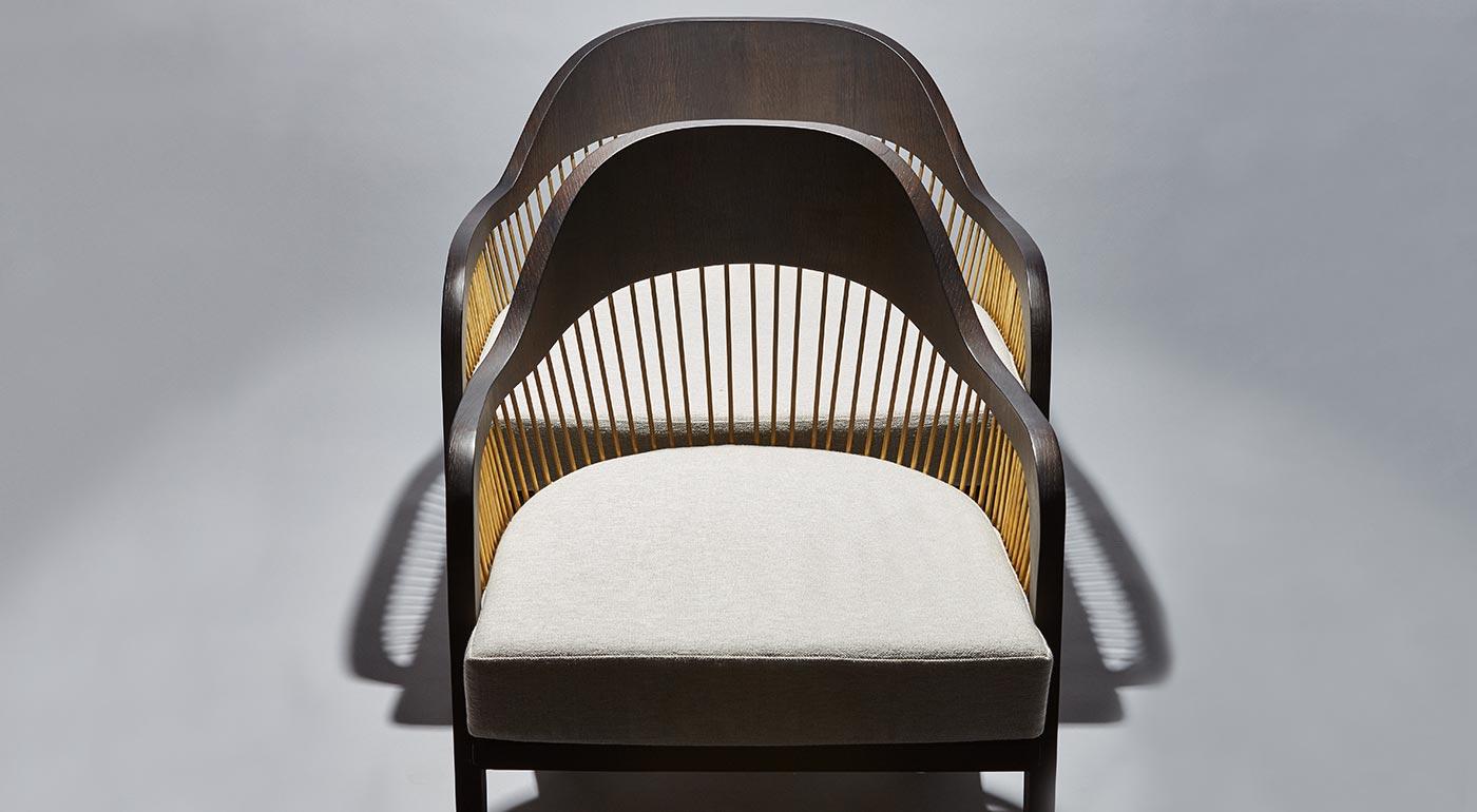 Chaise et fauteuil Lanka