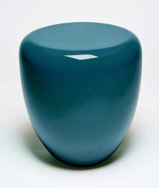 Dot peacock blue