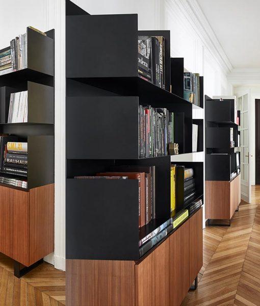 Bibliotheque Steeltop