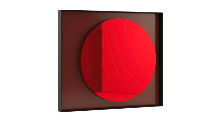 Red Moon Mirror